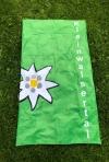 Badetuch grün 100x180 cm