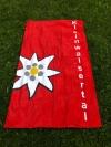Handtuch rot 50x100 cm