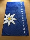 Handtuch blau 50x100 cm